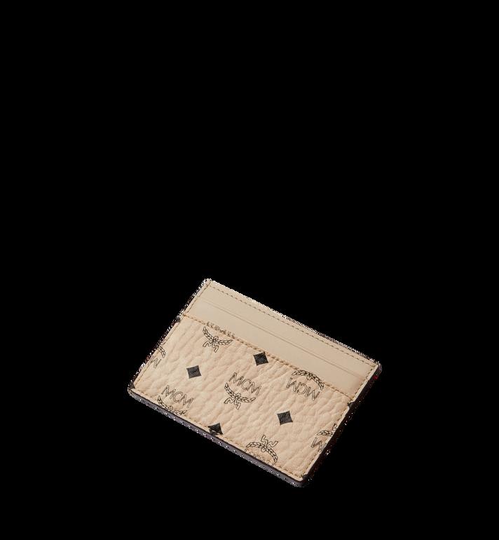 MCM Card Case in Visetos Alternate View 4