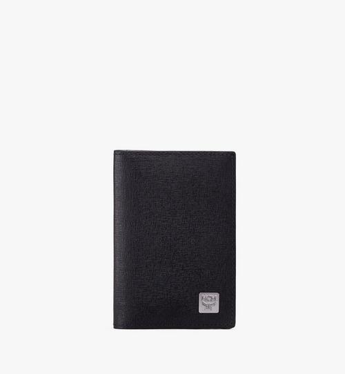코부르크 크로스그래인 레더 2단 미니 카드 지갑