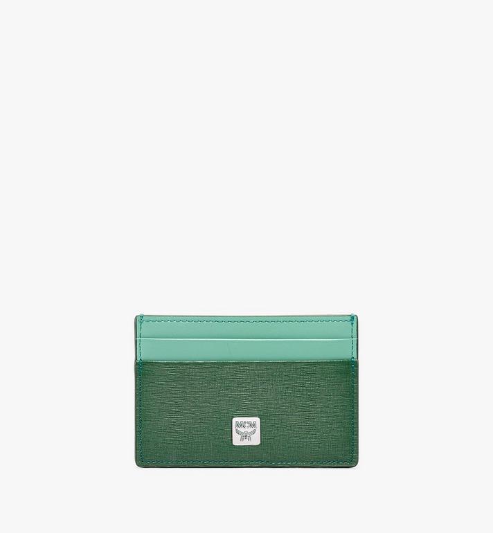 MCM Coburg Card Case in Crossgrain Leather Alternate View