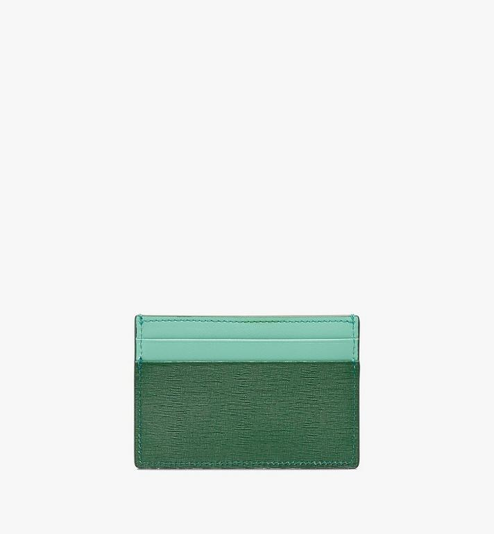 MCM Coburg Card Case in Crossgrain Leather Alternate View 2