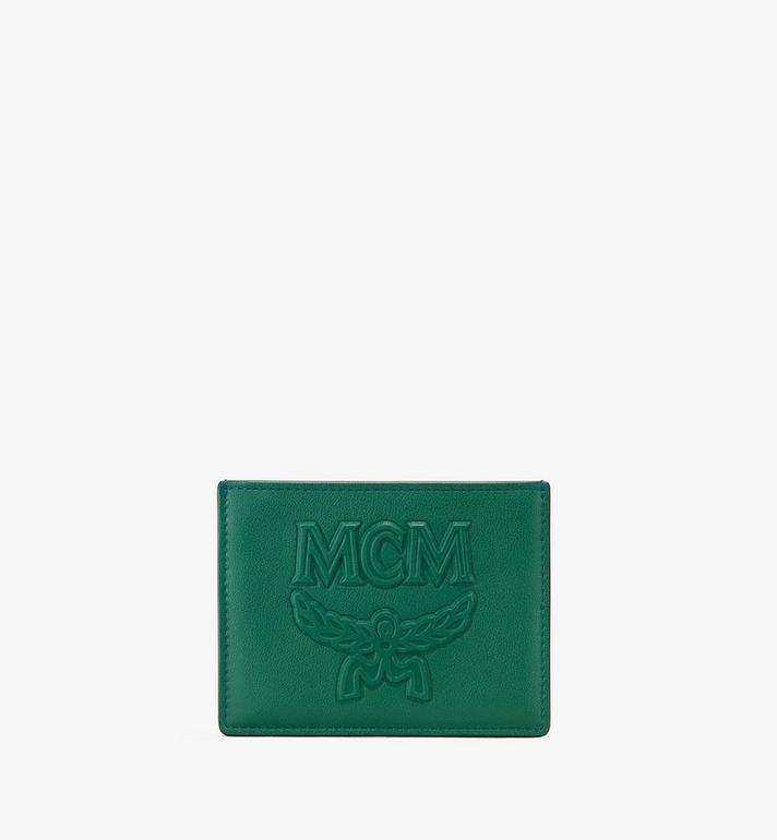 MCM Coburg Card Holder in Injection Leather Alternate View