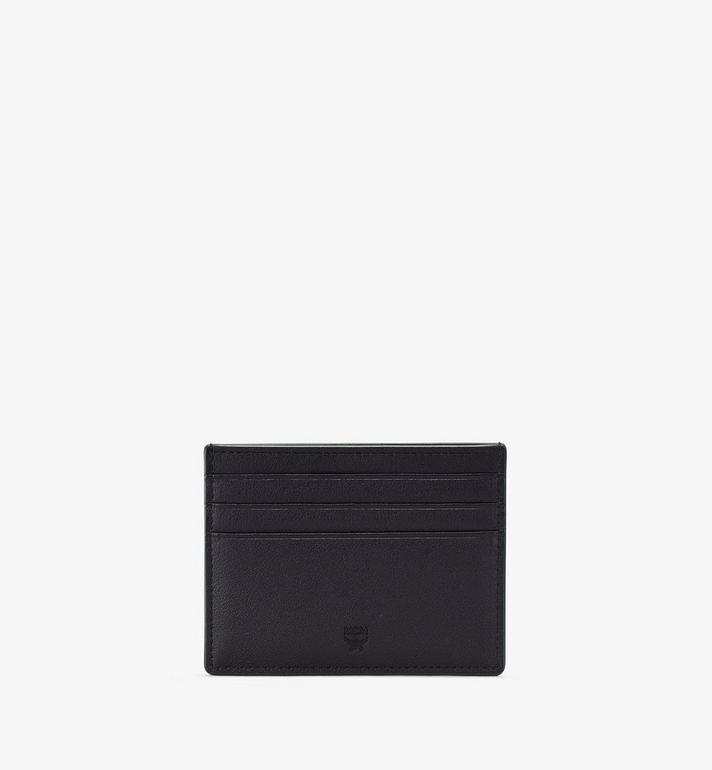 MCM Coburg Card Holder in Injection Leather Alternate View 2