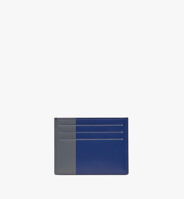 MCM Card Holder in Embossed Lion Camo  MXA9AES16BK001 Alternate View 2