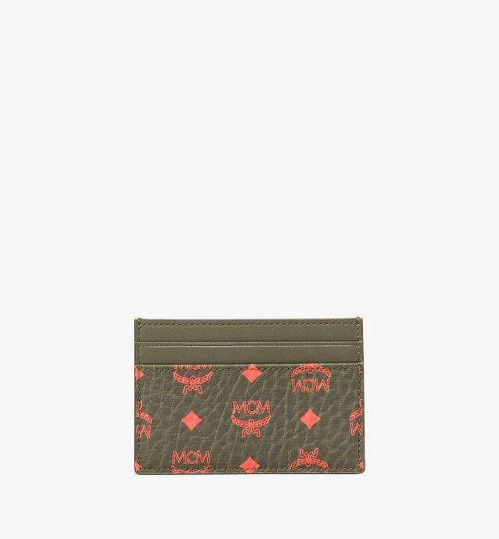 MCM Card Case in Visetos Alternate View 1