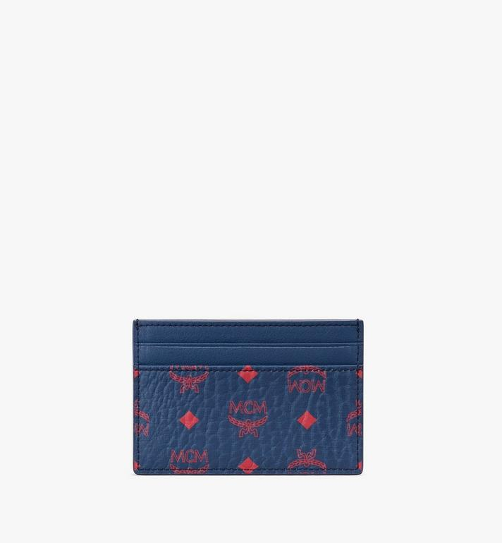 MCM Card Holder in Visetos  MXA9AVI42VS001 Alternate View 2