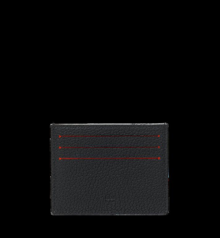 MCM 뉴 빅 로고 카드 케이스 Black MXA9SBM06BK001 Alternate View 3