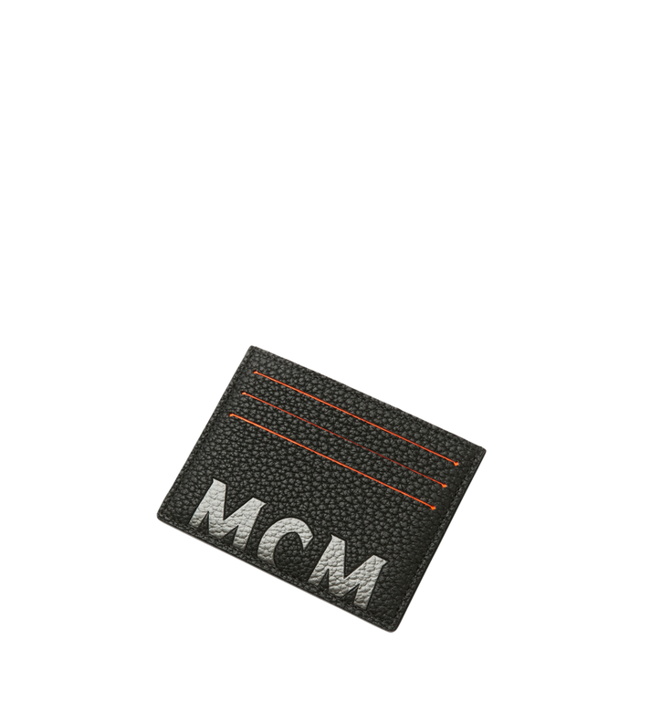 MCM 뉴 빅 로고 카드 케이스 Black MXA9SBM06BK001 Alternate View 4