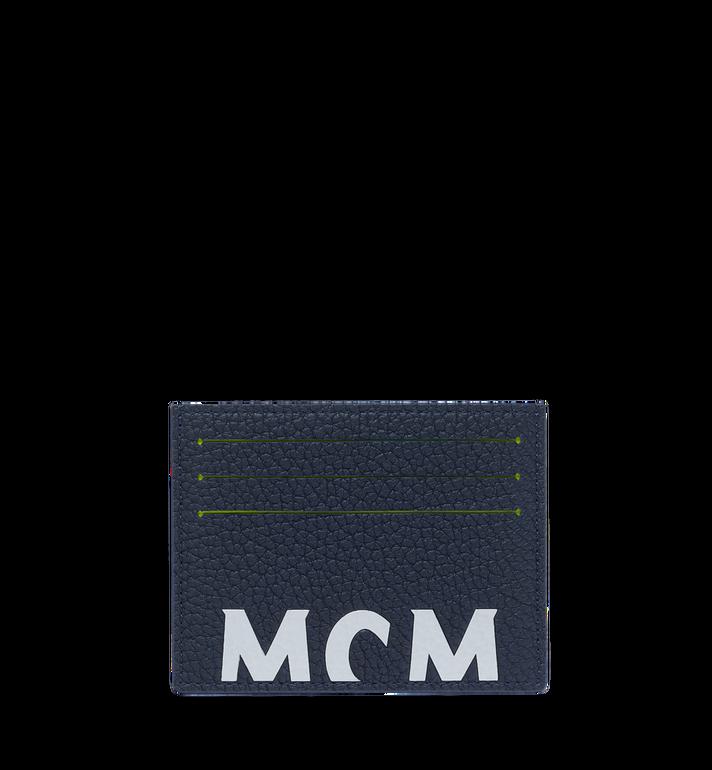 MCM ロゴプリント レザー カードケース Alternate View