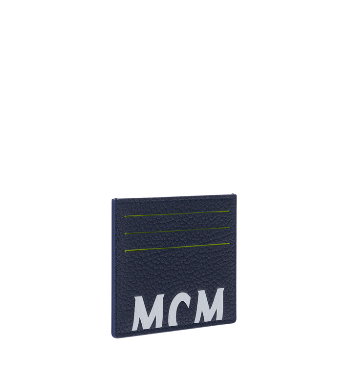 MCM 뉴 빅 로고 카드 케이스 Navy MXA9SBM06VY001 Alternate View 2