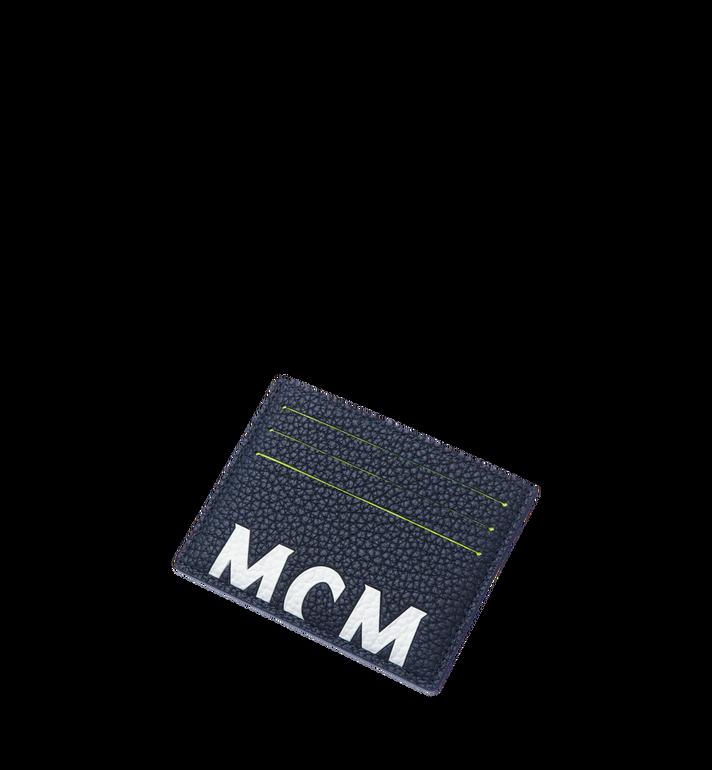 MCM 뉴 빅 로고 카드 케이스 Navy MXA9SBM06VY001 Alternate View 4