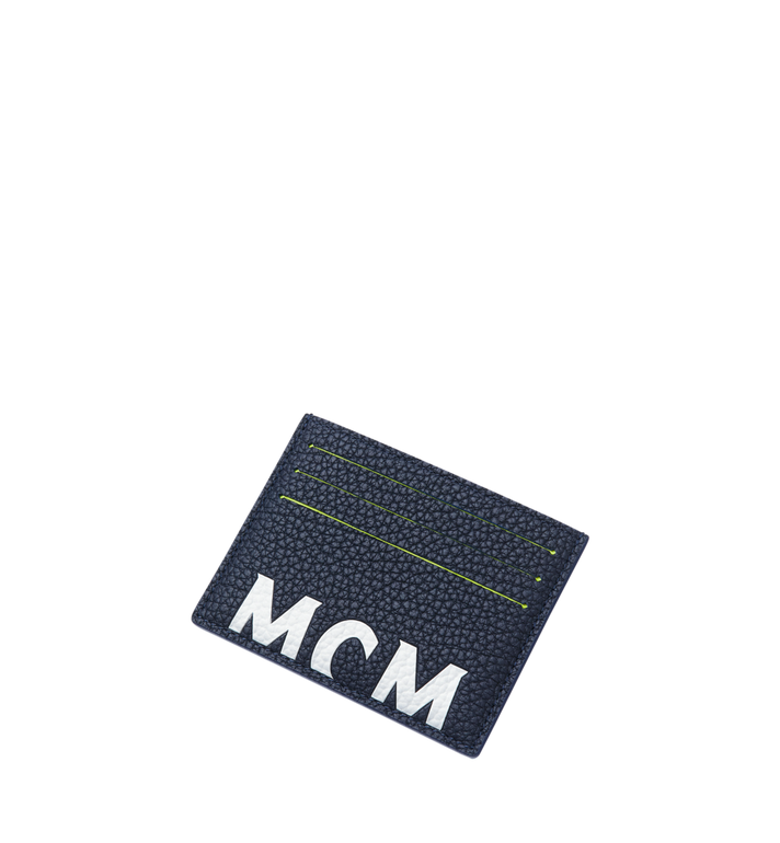 MCM ロゴプリント レザー カードケース Alternate View 4