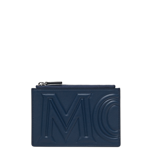Coin Card Wallet in MCM Injection Logo