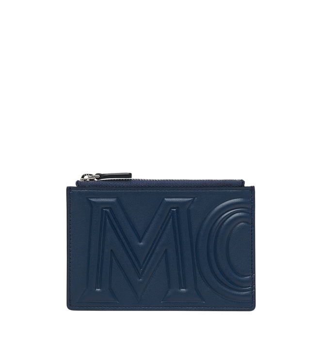 MCM Coin Card Wallet in MCM Injection Logo Alternate View