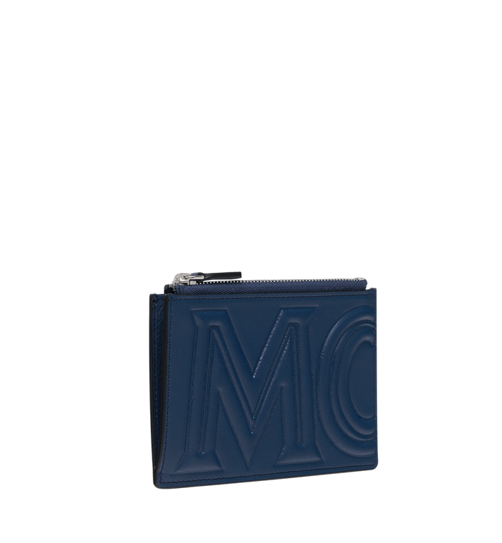 MCM Coin Card Wallet in MCM Injection Logo Blue MXA9SCL04VA001 Alternate View 2