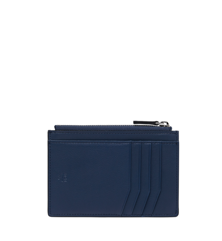 MCM Coin Card Wallet in MCM Injection Logo Blue MXA9SCL04VA001 Alternate View 3