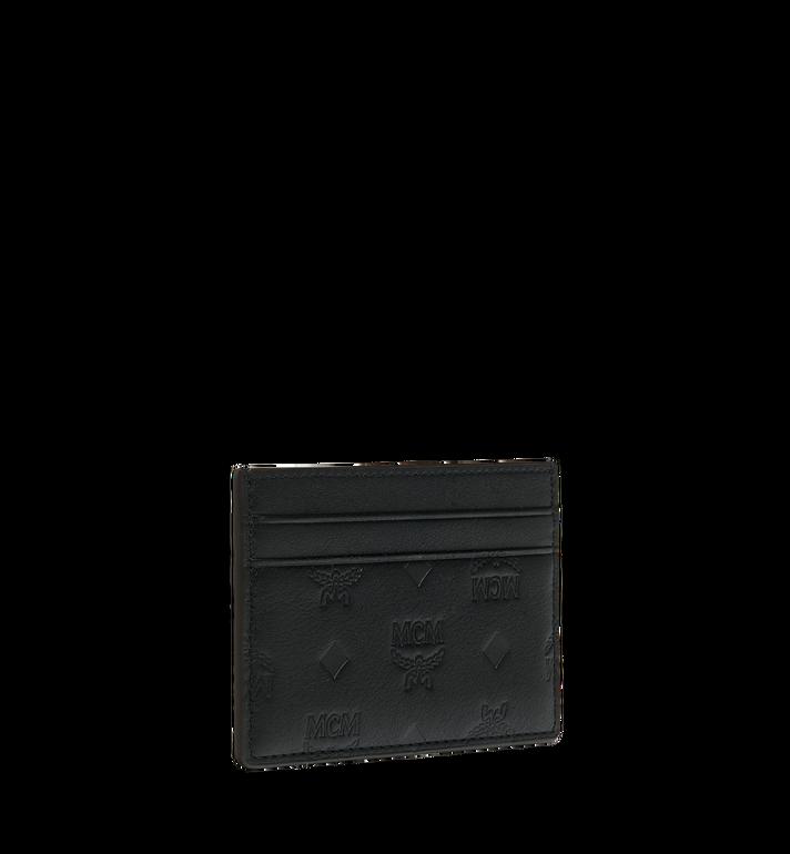 MCM Card Case in Monogram Leather Black MXA9SKM43BK001 Alternate View 2