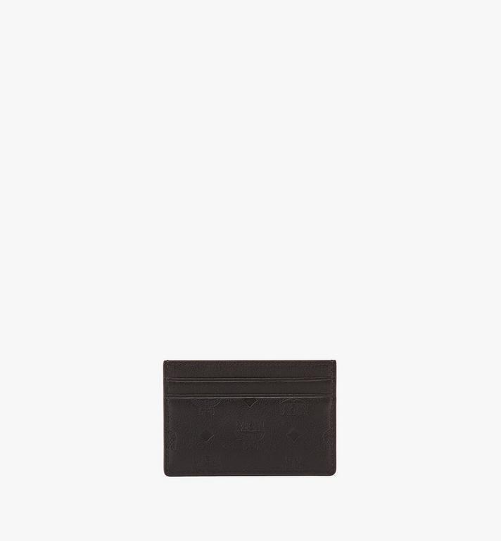 MCM Card Case in Monogram Leather MXA9SKM43BK001 AlternateView4