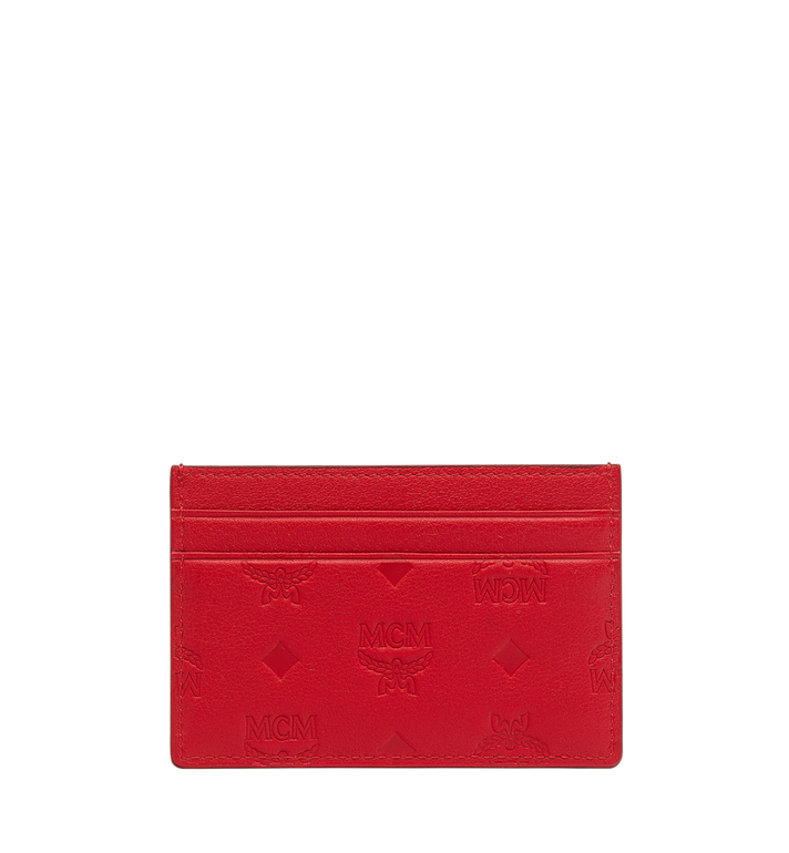 MCM Card Case in Monogram Leather Alternate View 1