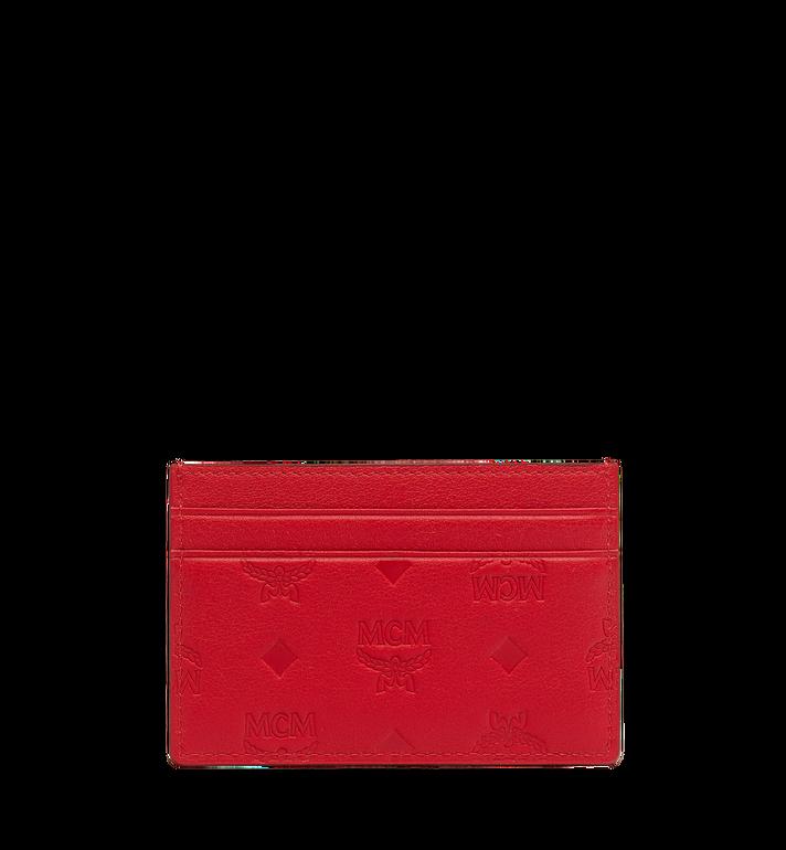 MCM Card Case in Monogram Leather MXA9SKM43RJ001 AlternateView