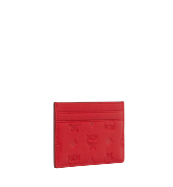 MCM Card Case in Monogram Leather Alternate View 2