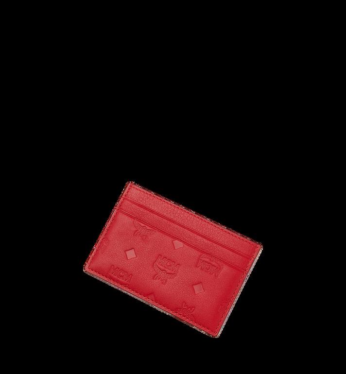 MCM Card Case in Monogram Leather MXA9SKM43RJ001 AlternateView4