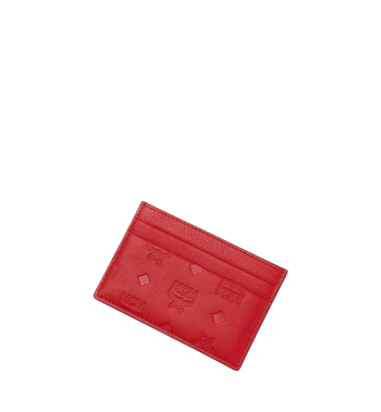 MCM Card Case in Monogram Leather Alternate View 4
