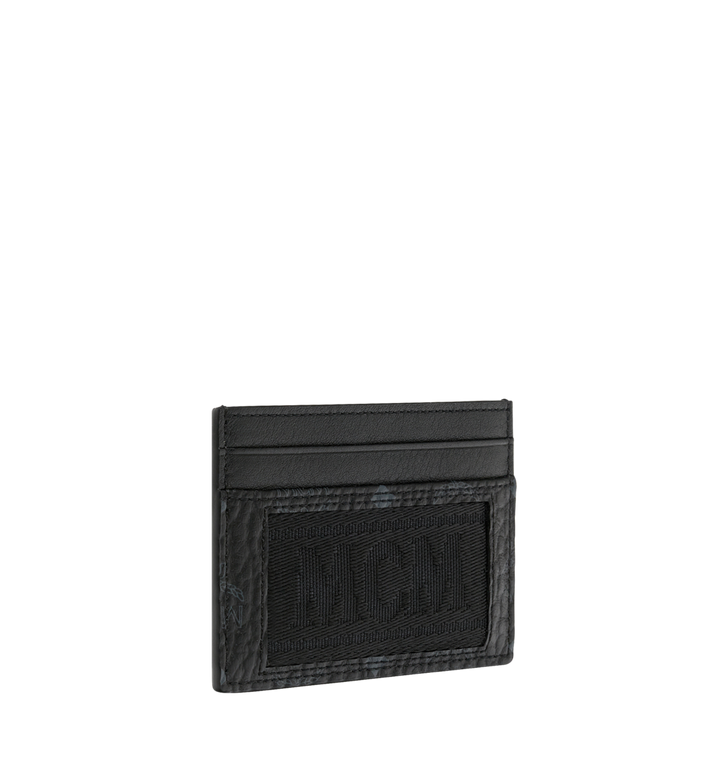 MCM Card Case in Webbing Visetos MXA9SVI92BK001 AlternateView2