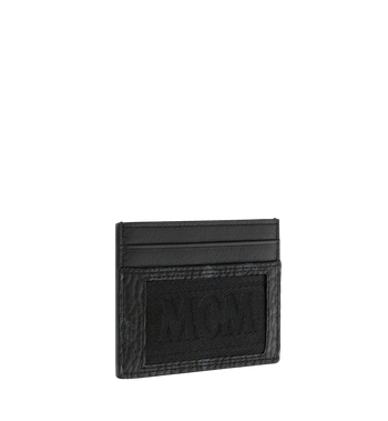 MCM Card Case in Webbing Visetos Alternate View 2