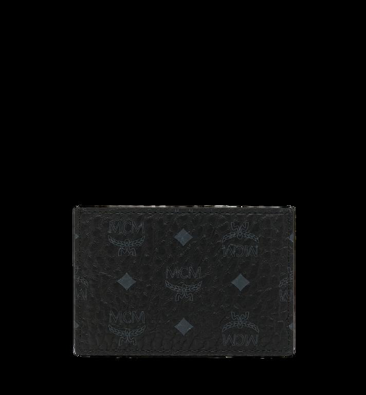 MCM Card Case in Webbing Visetos MXA9SVI92BK001 AlternateView3