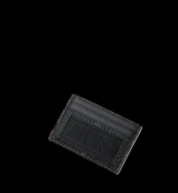 MCM Card Case in Webbing Visetos MXA9SVI92BK001 AlternateView4