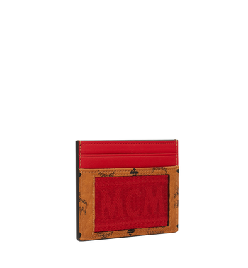 MCM Card Case in Webbing Visetos MXA9SVI92CO001 AlternateView2