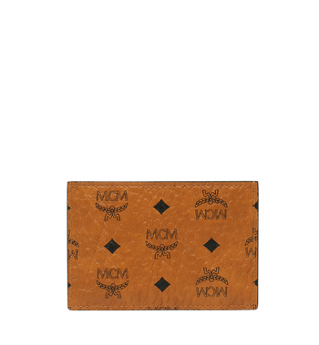 MCM Card Case in Webbing Visetos MXA9SVI92CO001 AlternateView3
