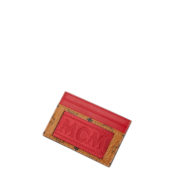 MCM Card Case in Webbing Visetos Alternate View 4