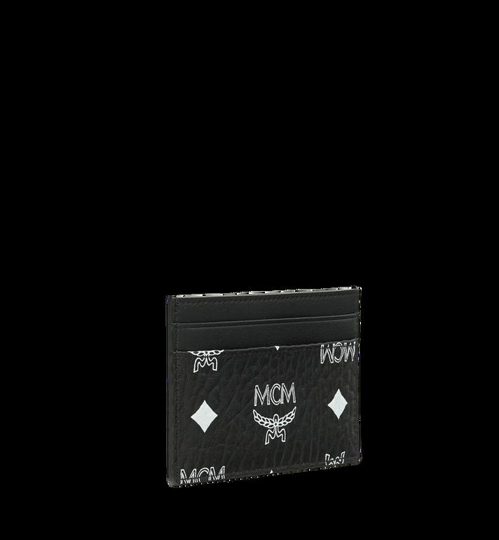 MCM Card Case in White Logo Visetos MXA9SWA08BV001 AlternateView2