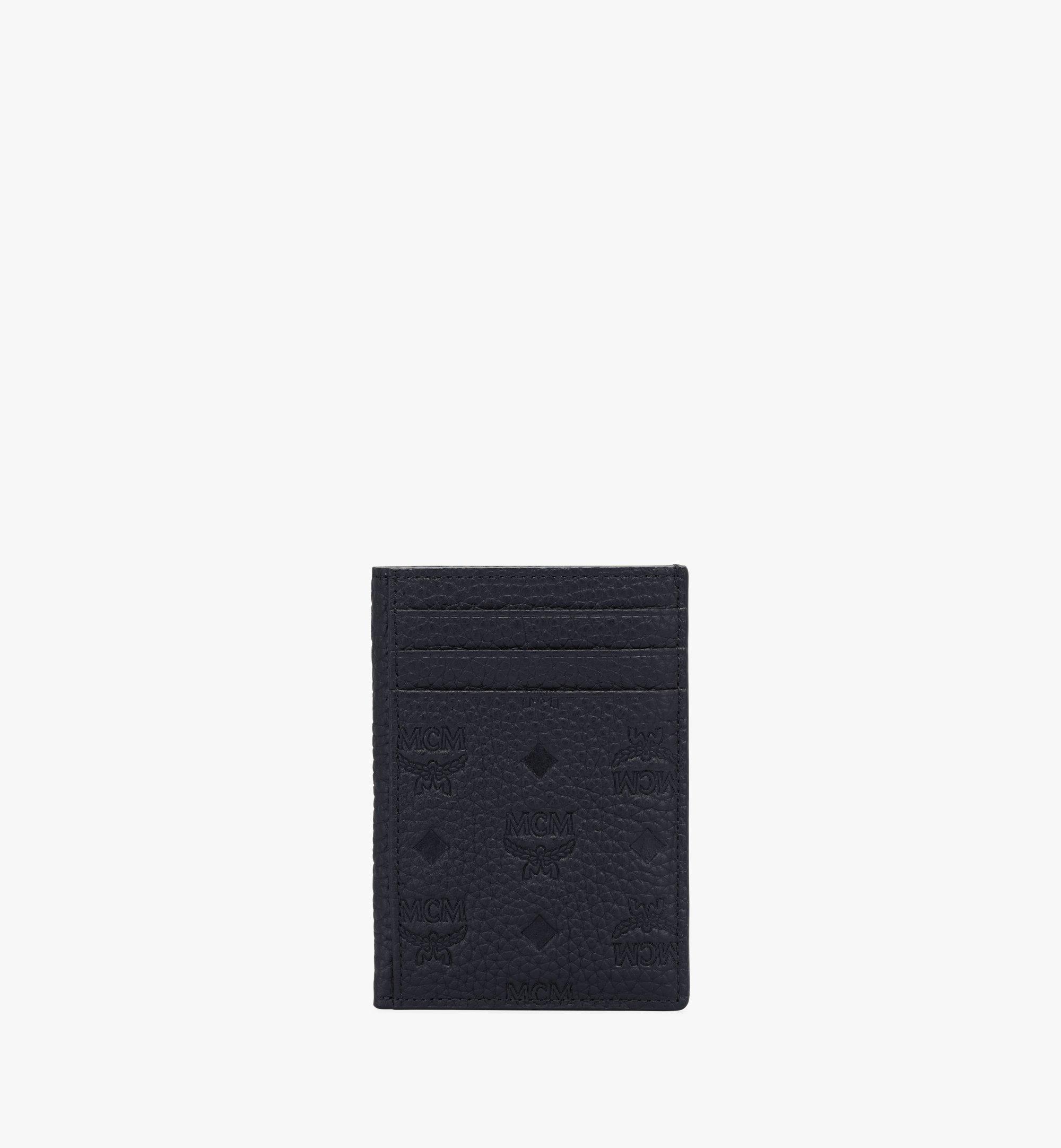 MCM Tivitat 縮寫字母圖案皮革 N/S 卡片夾 Black MXAAABT01BK001 更多視圖 1