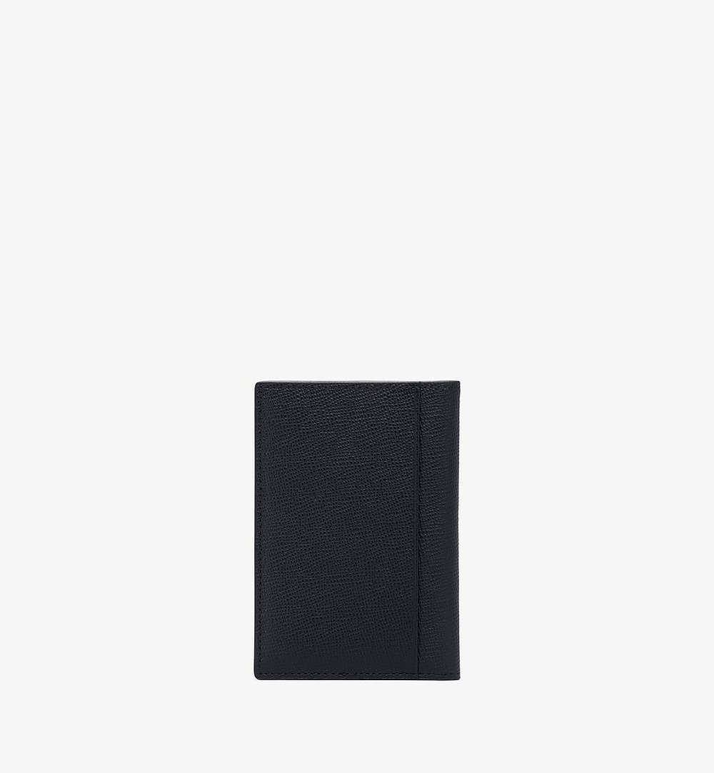 MCM Mena Bifold Card Wallet Black MXAAALM01BK001 Alternate View 2