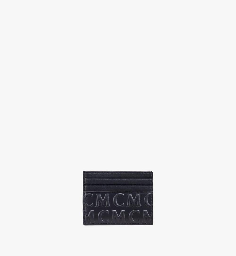 Card Case in MCM Monogram Leather 1