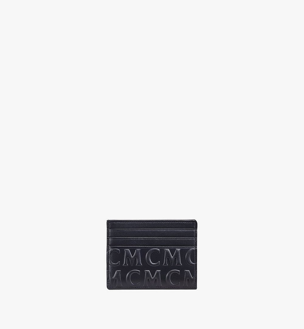MCM Card Case in MCM Monogram Leather Cognac MXAAAMD01BK001 Alternate View 1
