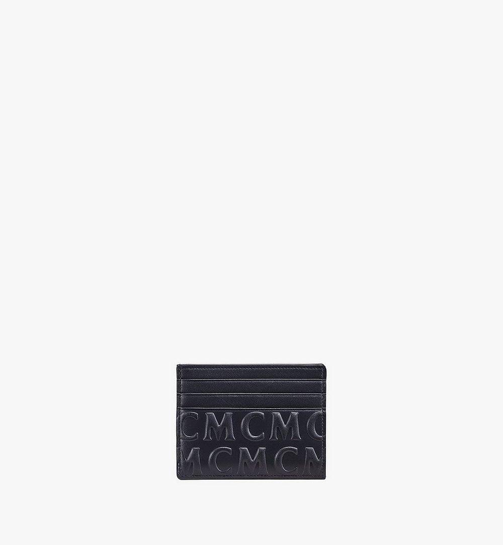 MCM Kartenetui aus Leder mit MCM-Monogramm Cognac MXAAAMD01BK001 Noch mehr sehen 1
