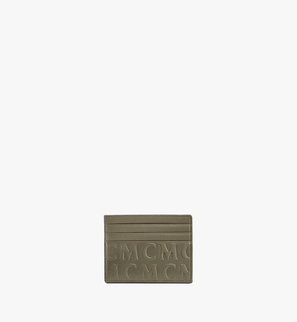 MCM Kartenetui aus Leder mit MCM-Monogramm Red MXAAAMD01JH001 Noch mehr sehen 1