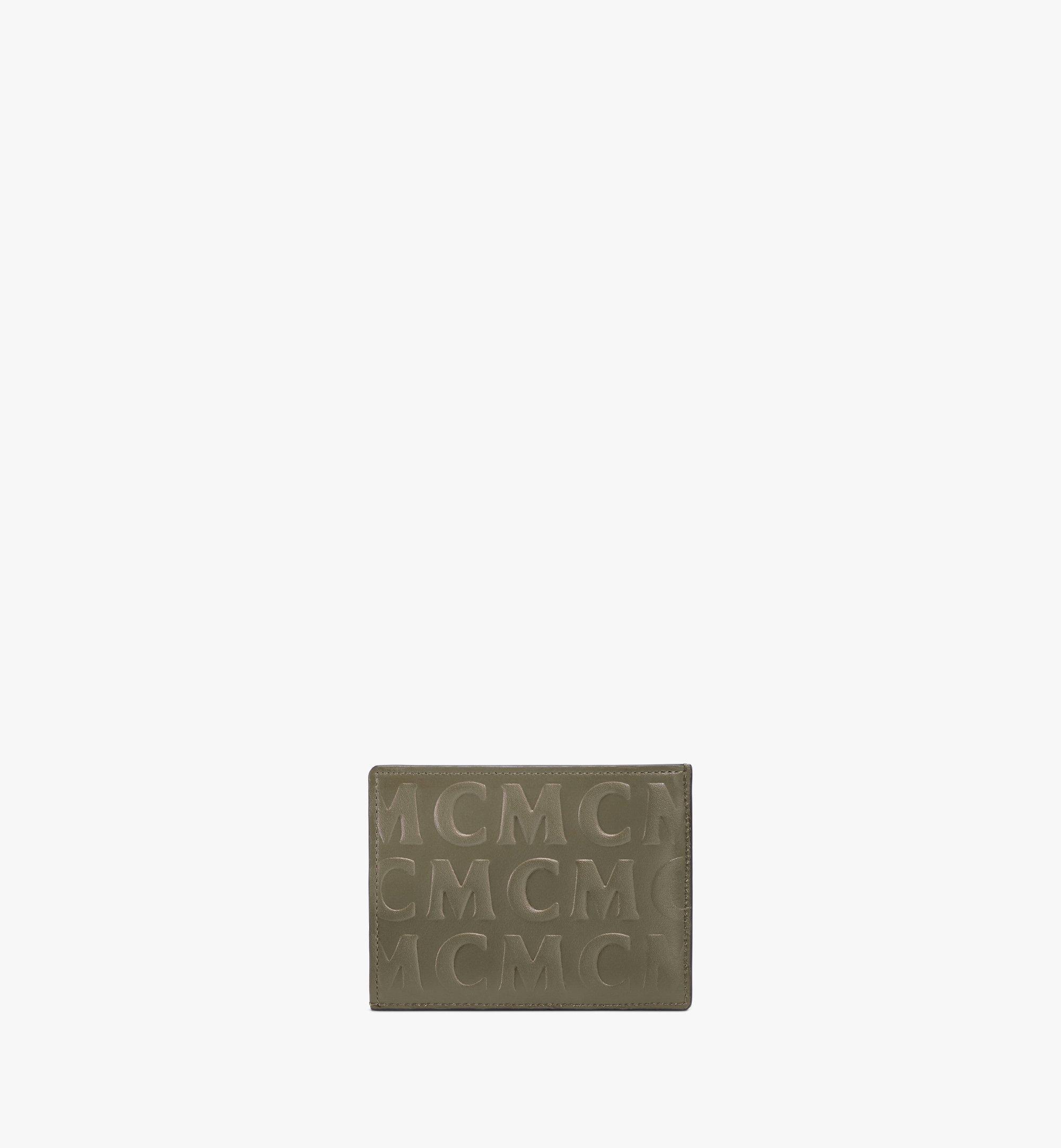 MCM Kartenetui aus Leder mit MCM-Monogramm Green MXAAAMD01JH001 Noch mehr sehen 2