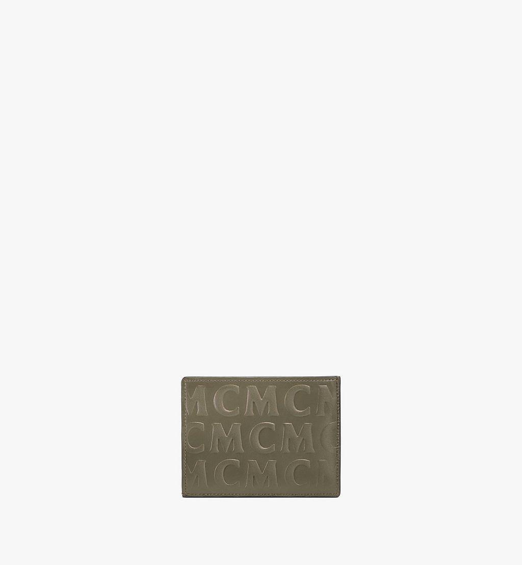MCM Kartenetui aus Leder mit MCM-Monogramm Red MXAAAMD01JH001 Noch mehr sehen 2