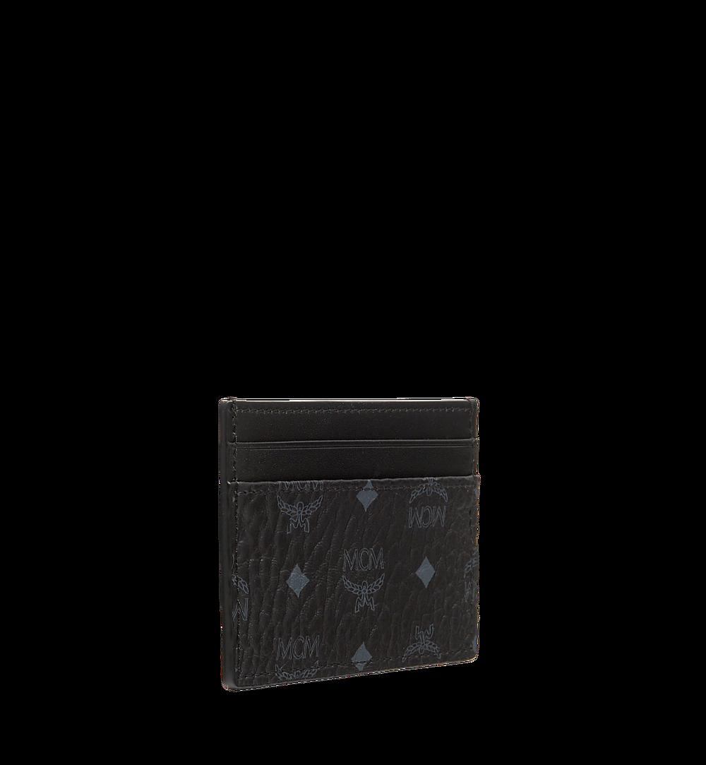 MCM Card Case in Visetos Original Cognac MXAAAVI01BK001 Alternate View 1
