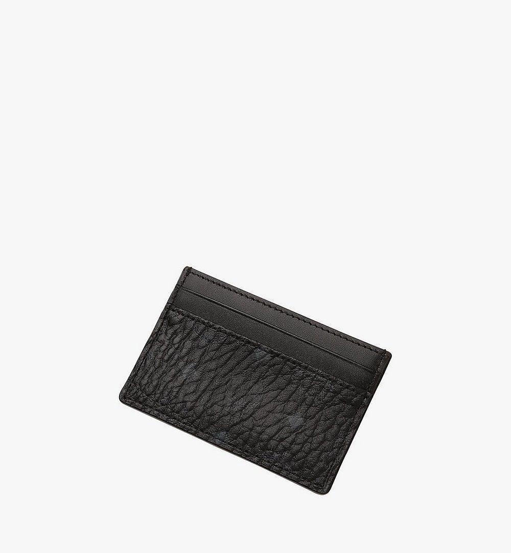 MCM Card Case in Visetos Original Cognac MXAAAVI01BK001 Alternate View 2
