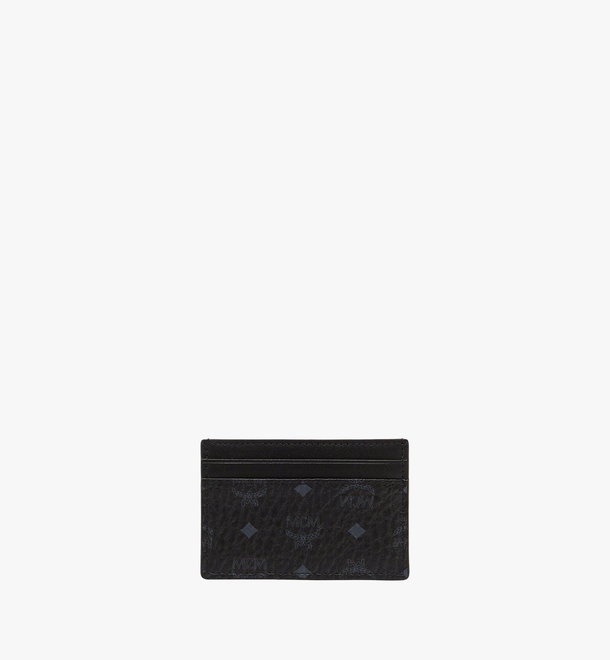 MCM Kartenetui in Visetos Original Black MXAAAVI01BK001 Noch mehr sehen 3