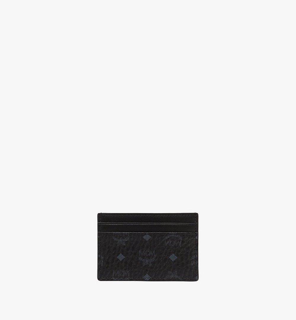 MCM Card Case in Visetos Original Cognac MXAAAVI01BK001 Alternate View 3