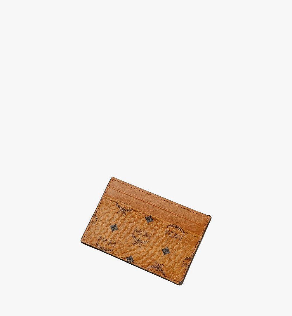 MCM Card Case in Visetos Original Cognac MXAAAVI01CO001 Alternate View 2
