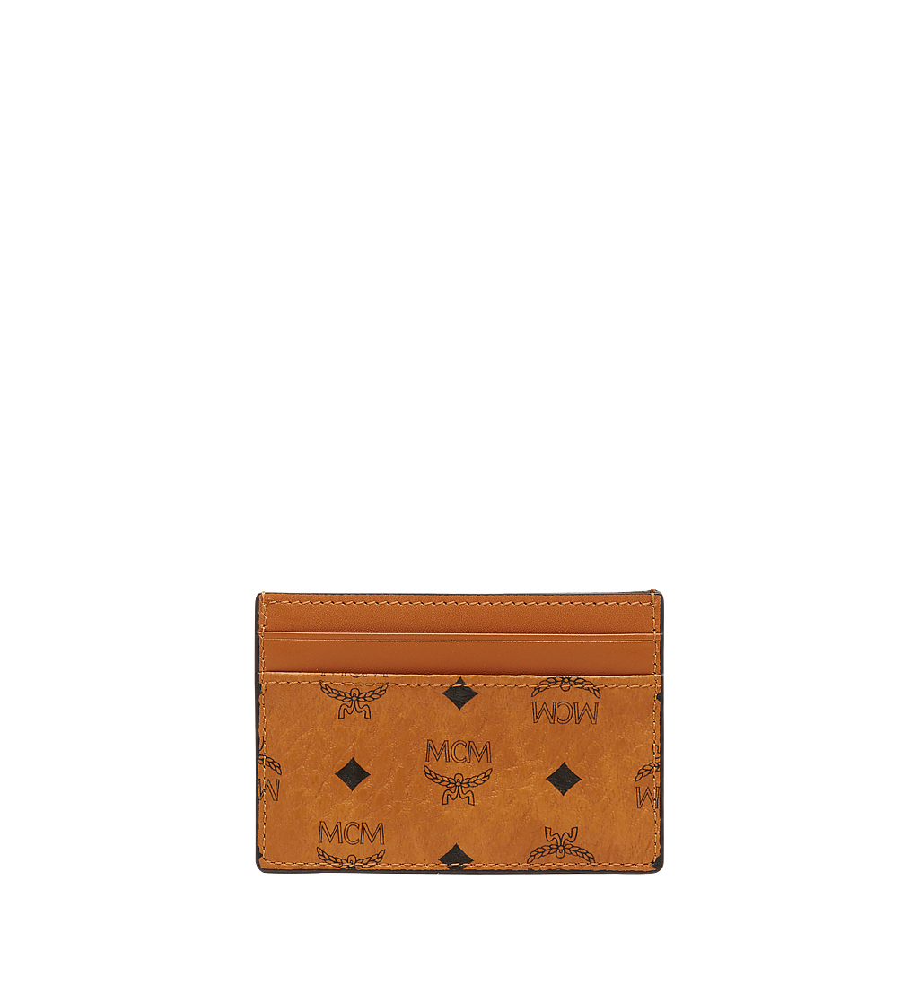 MCM Card Case in Visetos Original Cognac MXAAAVI01CO001 Alternate View 2