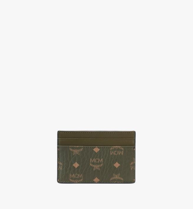 MCM Card Case in Visetos Original Alternate View