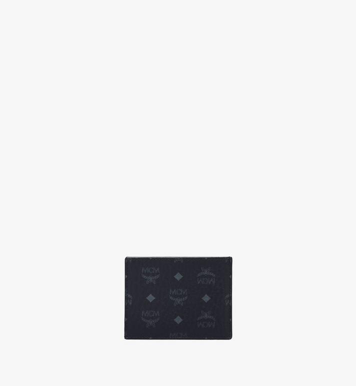 MCM 비세토스 오리지널 카드 케이스 Black MXAAAVI02BK001 Alternate View 2